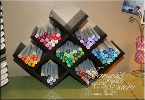 My Copic Storage The Inking Spot Of Crain Creations