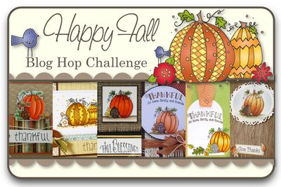 Happy Fall Blog Hop Challenge