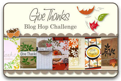 Give Thanks Blog Hop Challenge
