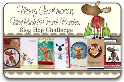 Merry Christmas_Nice Rack_Nordic Borders_ Blog Hop Challenge